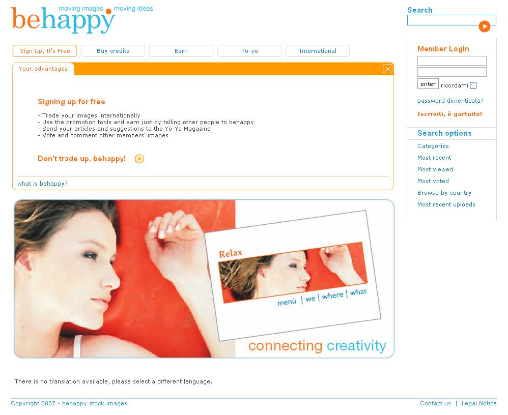 behappy web stock images